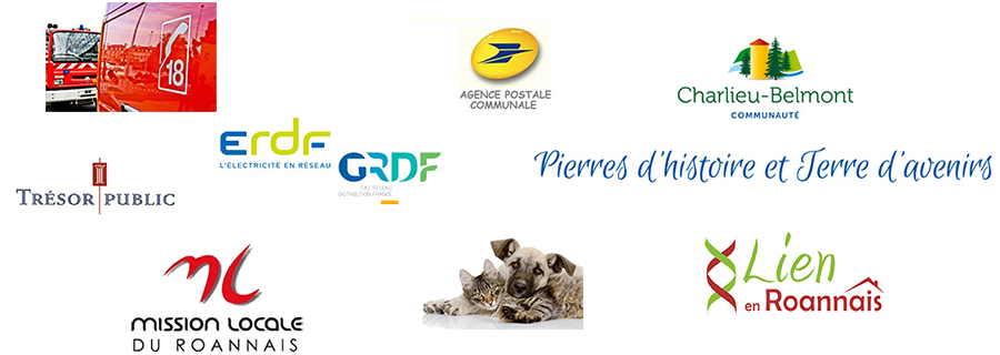 Logos divers associations et services